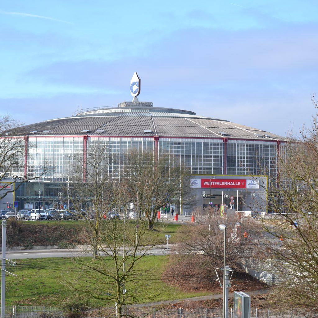 Der Messestandort - Die Westfalenhalle In Dortmund