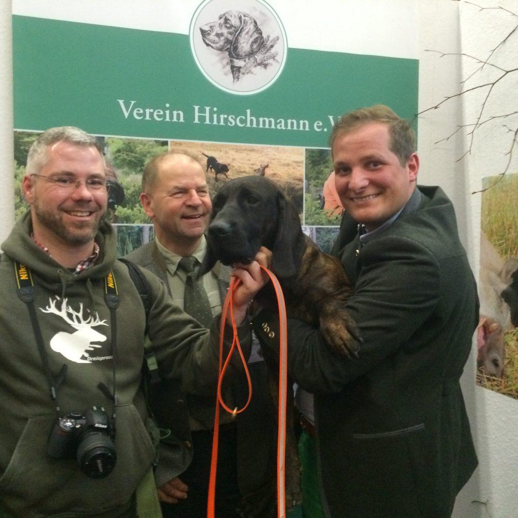 Am Stand Vom Verein Hirschmann E.V.