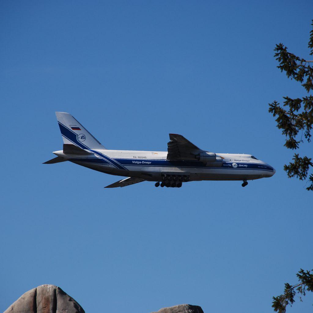 Zufälliger Anblick Beim Hagenbeck-Besuch: 1 Von Weltweit 5 ANTONOV 124, Größtes Transportflugzeug