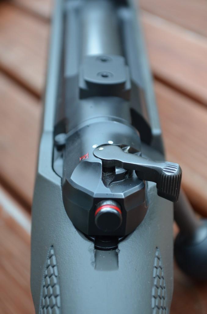Mauser M 12 Dreistellungssicherung SRS (Smooth-Roll-Safety)