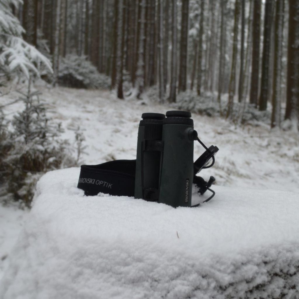 Bei Der Drück- Und Abstauberjagd War Das EL Range 10x42 Immer Dabei