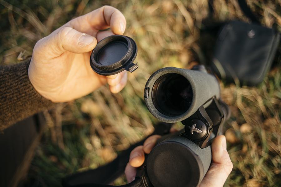 Kleines Malheur, Defekter Objektivschutzdeckel