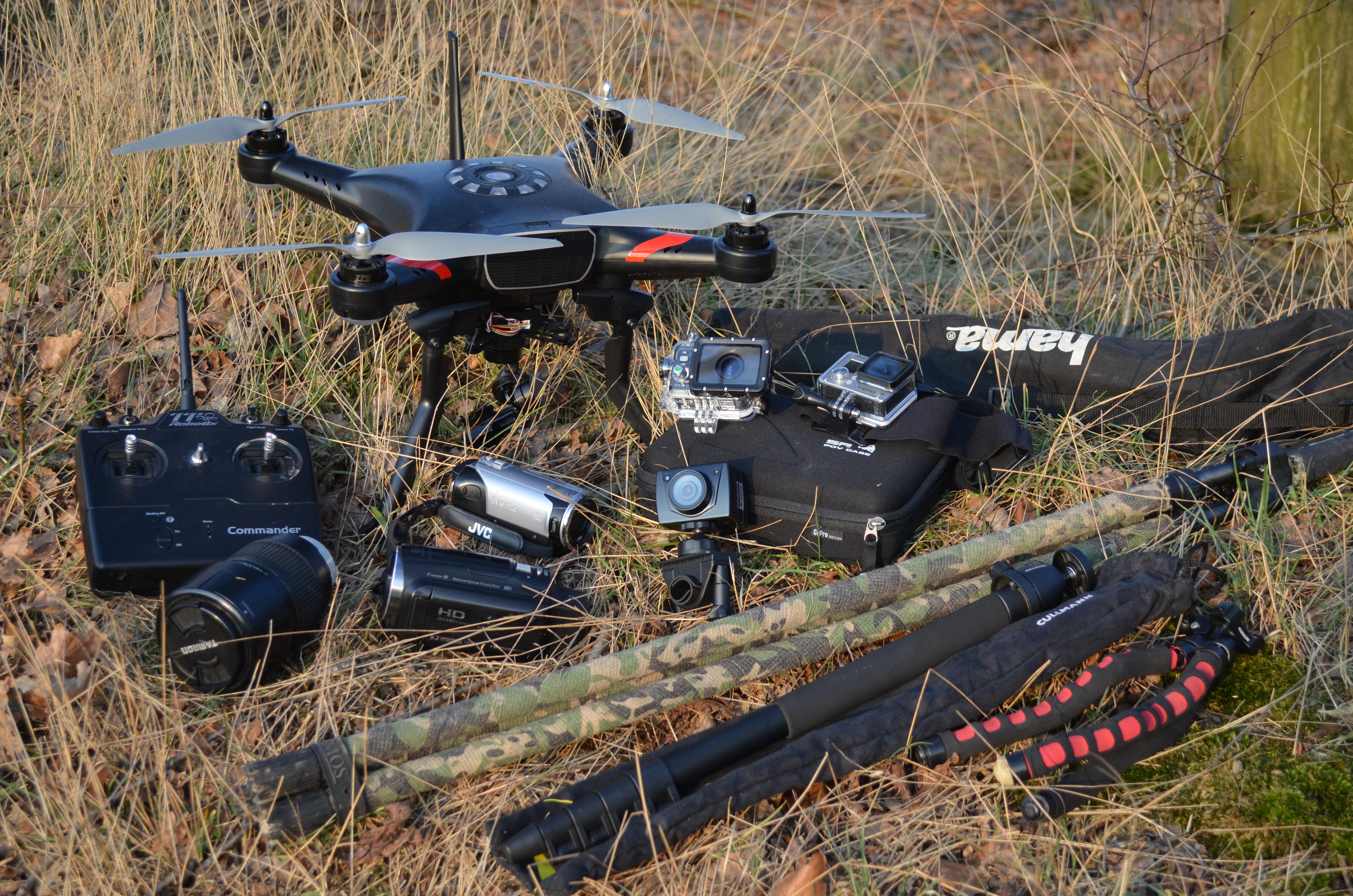 Meine Foto- Und Filmausrüstung Für Die Jagd