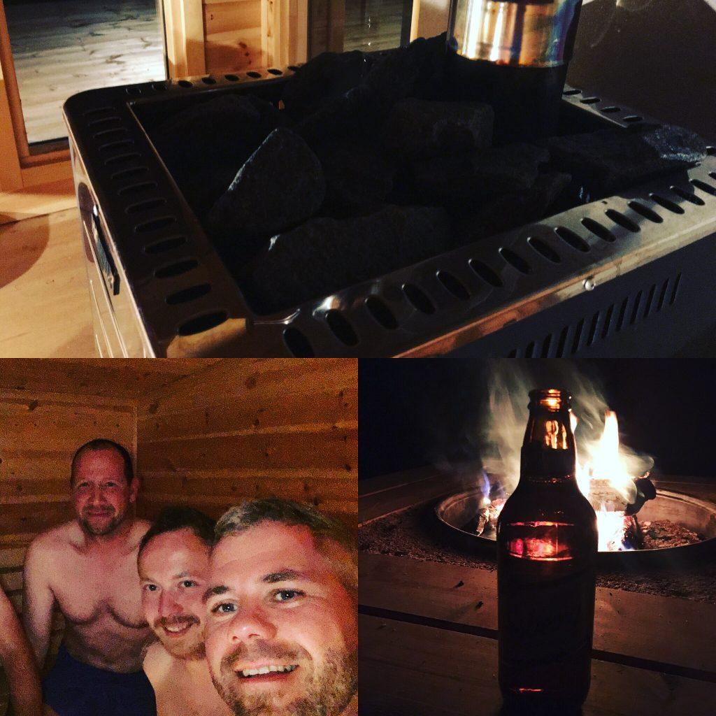 Na Klar, Wurde Auch Die Schwedische Sauna Genossen.