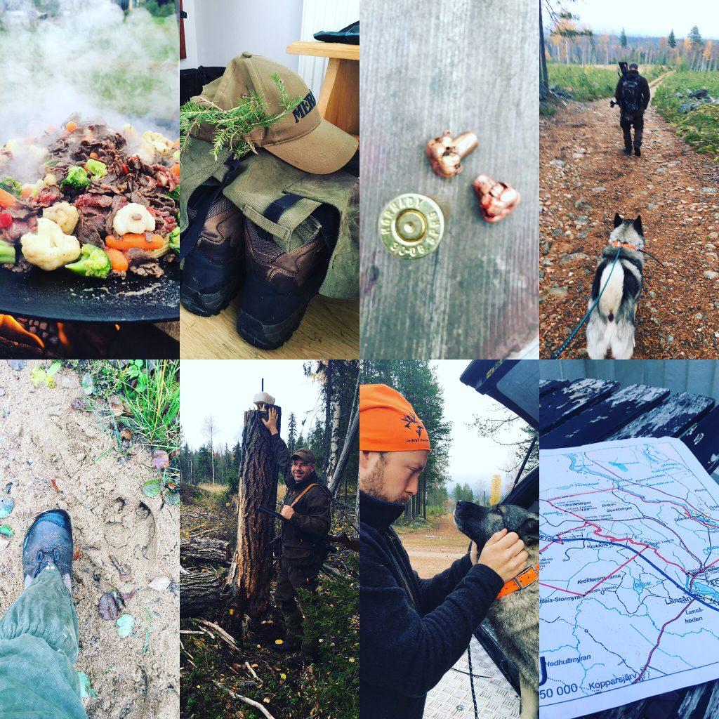 Survival, Outdoorcooking, Direktes Und Nahes Erleben Der Natur. Hier In Der Stille Nordschwedens