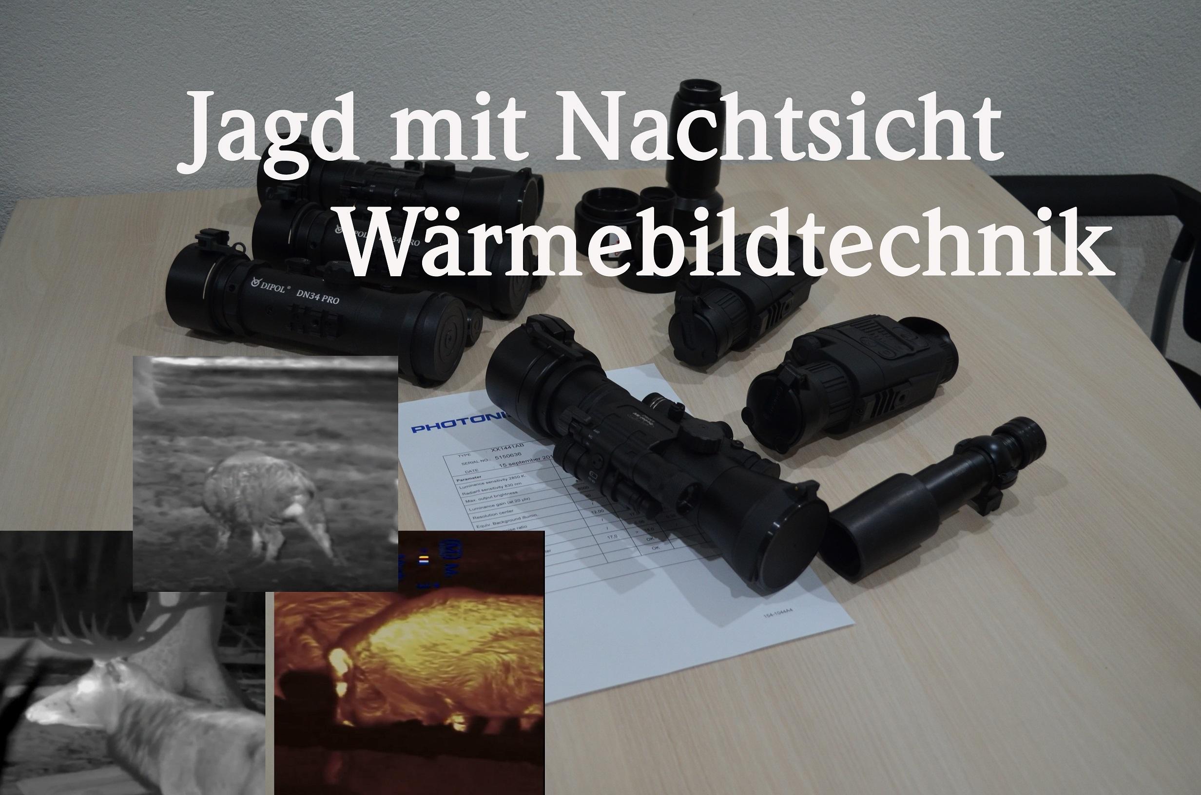"""Neues Video """" Jagd Mit Nachtsicht- Und Wärmebildtechnik """""""