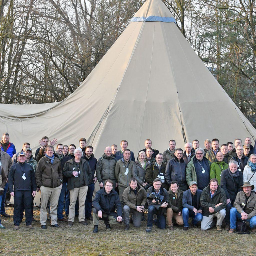 Gruppenbild Der Teilnehmer Des 5.RWS Shooting Day