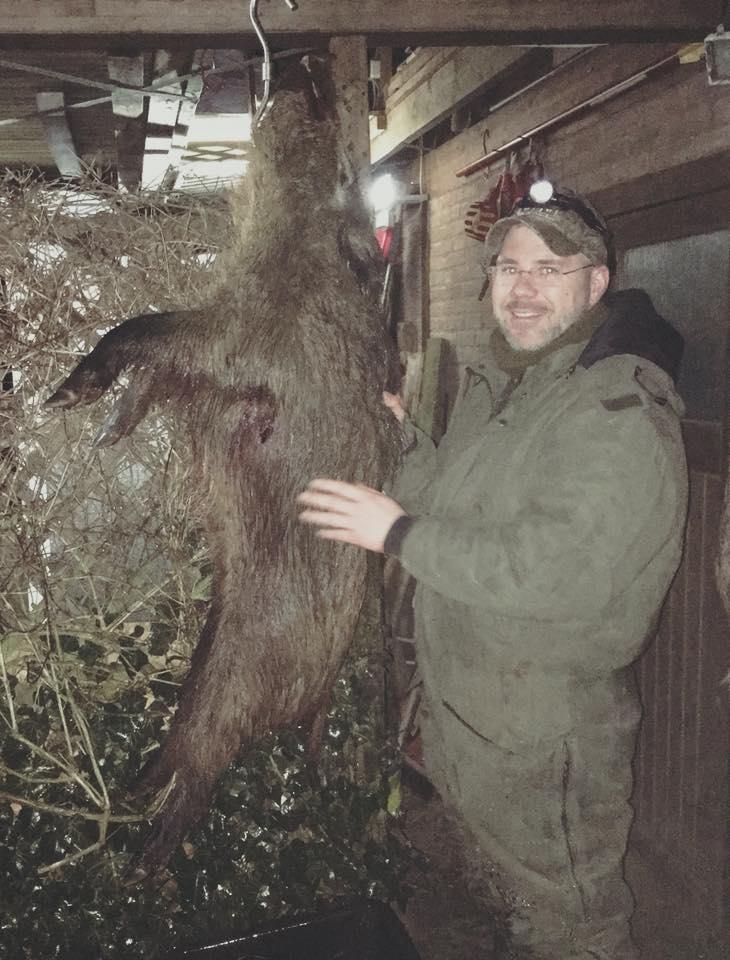 Frischlingskeiler Mit 35 Kg