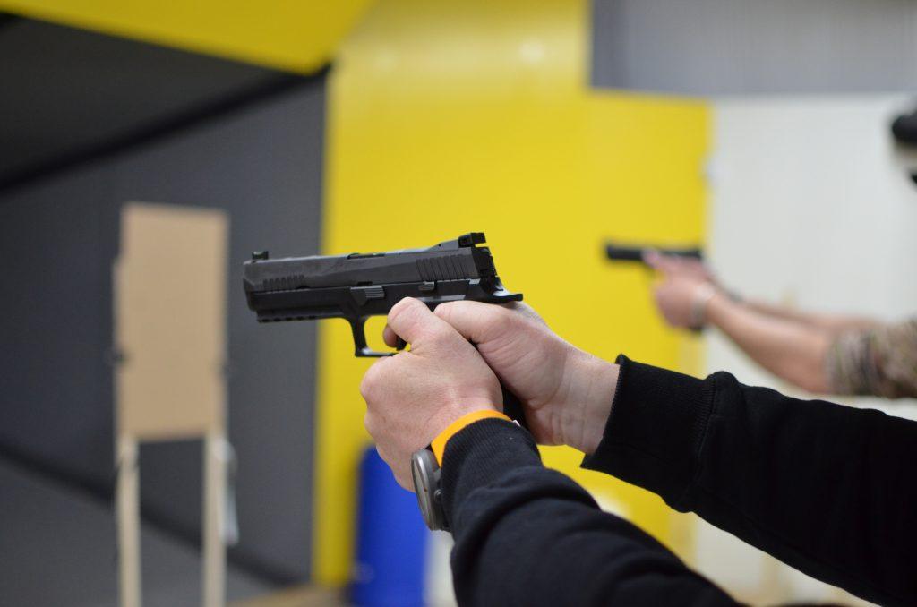 Suunto Traverse Alpha, Härtetest für den Schusszähler in der SigSauer Academy USA