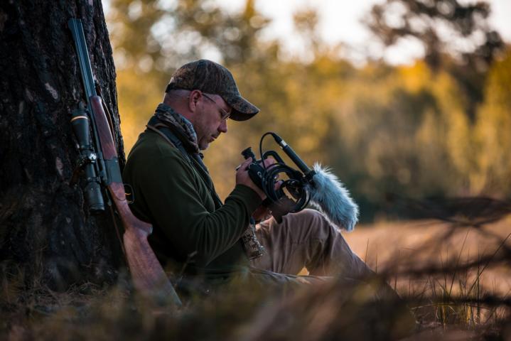 Jagd Im Heideland, Wo Die Jäger Mit Den Wölfen Jagen