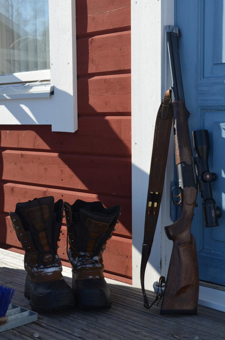Jagdwaffen – Merkels Bergstutzen B4
