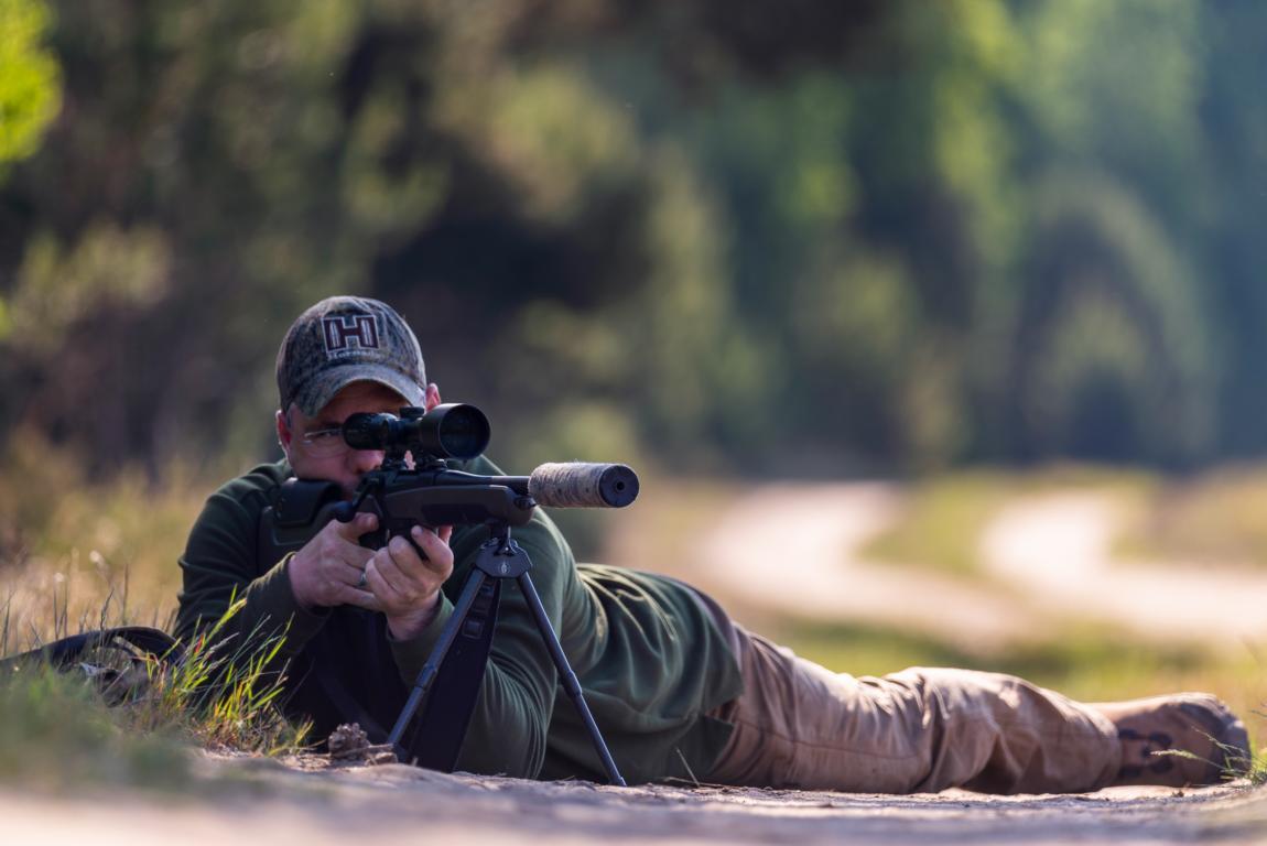 Zweibein SPARTAN 300, Universal Guide- Und Waffen Adapter