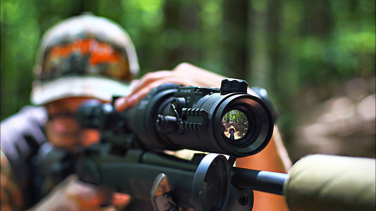 Jagd Mit Nachtsichttechnik – MONTAGE Von Vorsatzgeräten