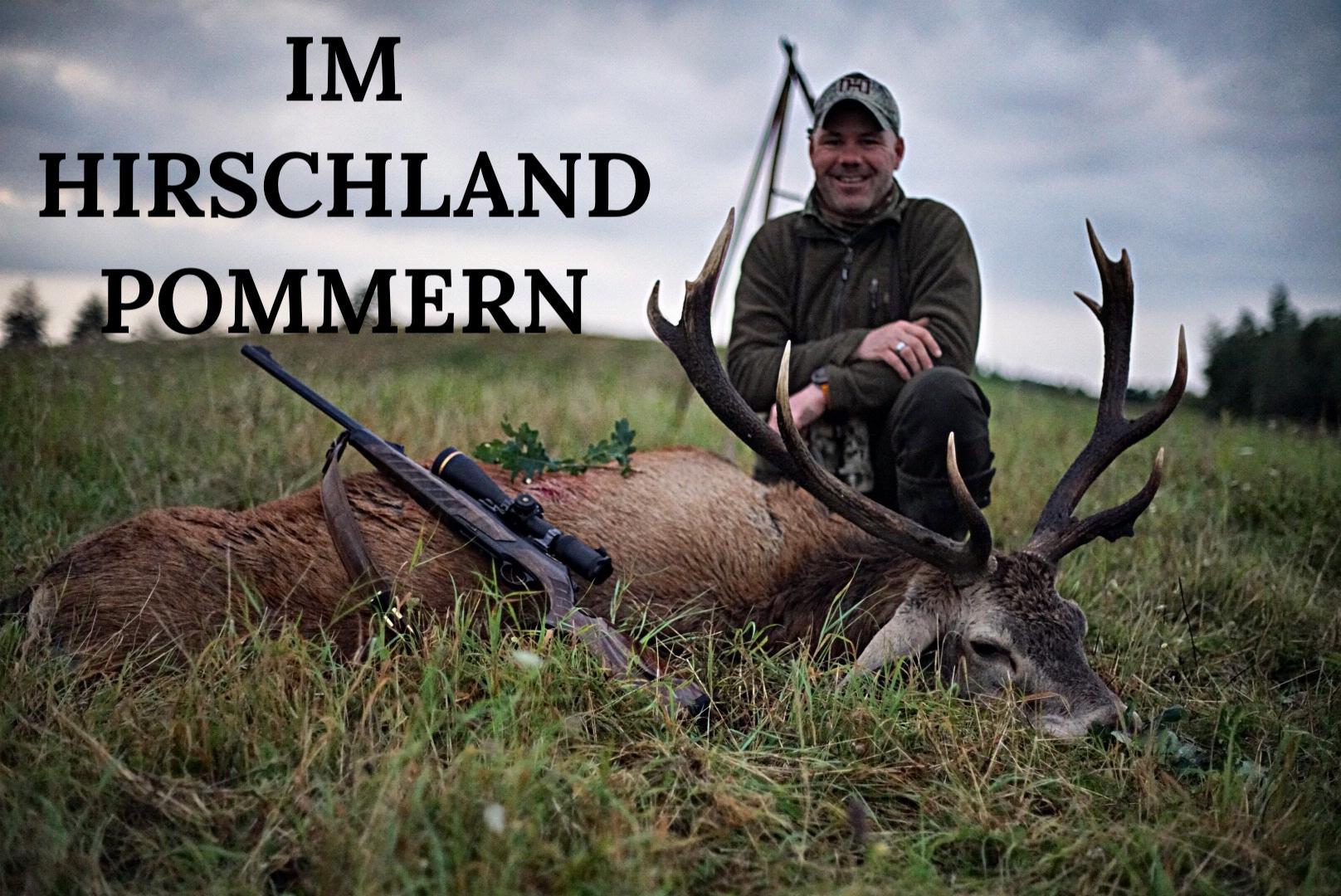 """Neues YT-Video """"Im Hirschland Pommern"""""""